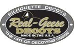 Real Geese Silhouette Decoys Logo