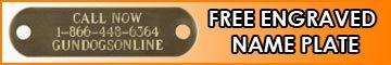 SportDOG - Free Name Plate