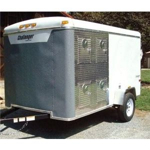 Custom 6x10 Enclosed 8 Dog Trailer Ad 49427