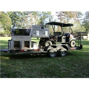 Upland Utv Trailer With 4 Dog Boxes Ad 60312