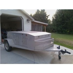 Creative Sports Supply 6 Hole Aluminum Dog Trailer Ad 60697