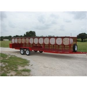 Portable Kennel Trailer Ad 61022