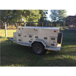 6 Hole Aluminum Dog Trailer Ad 81839
